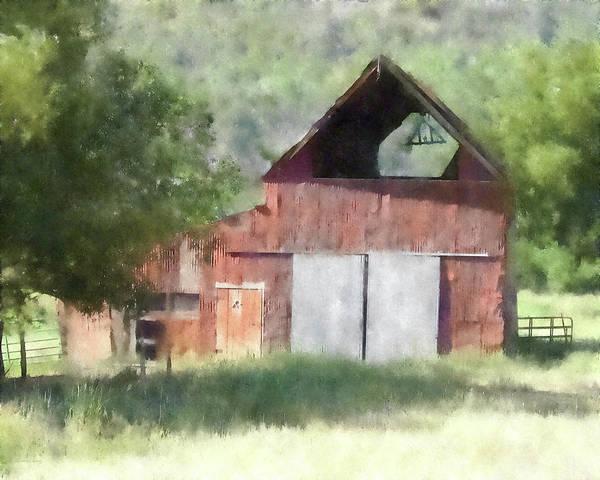 Digital Art - Kamas Barn Dwp by David King