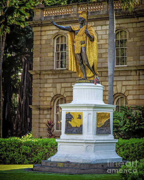 Photograph - Kamehameha The Great by Jon Burch Photography