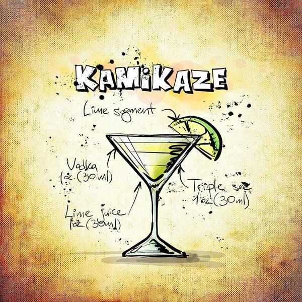Digital Art - Kamikaze by Movie Poster Prints