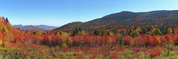 Photograph - Kancamagus Highway Panorama New Hampshire by Toby McGuire