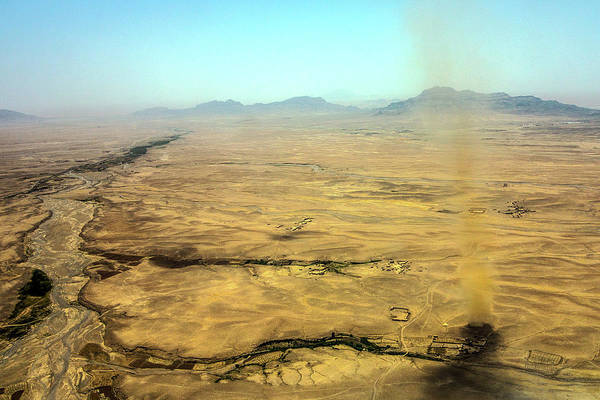 Photograph - Kandahar Dust Devil by SR Green