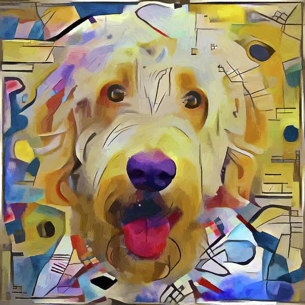 Wall Art - Digital Art - Kandinsky Dog 1 by Yury Malkov