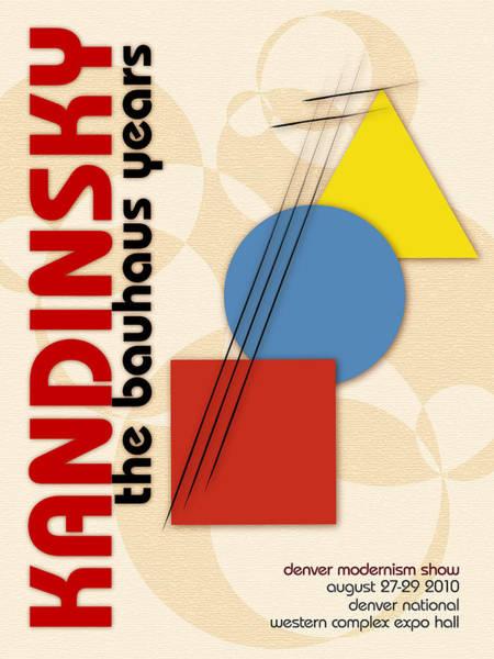 Digital Art - Kandinsky 3 by Chuck Mountain