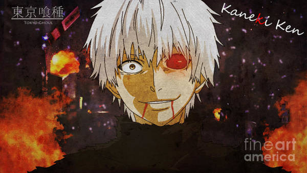Ghoul Digital Art - Kaneki Ken by BGGamer441