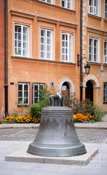 Wall Art - Photograph - Kanonia Bell In Warsaw Old Town by Arletta Cwalina