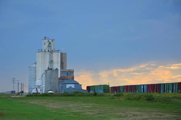 Photograph - Edson Kansas by Keith Stokes