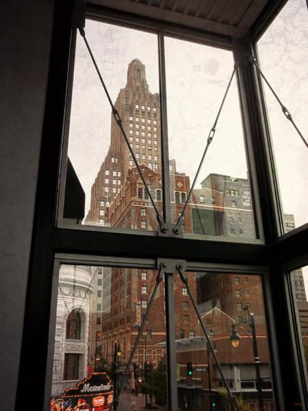 Photograph - Kansas City - Beyond The Window by Glenn McCarthy Art and Photography