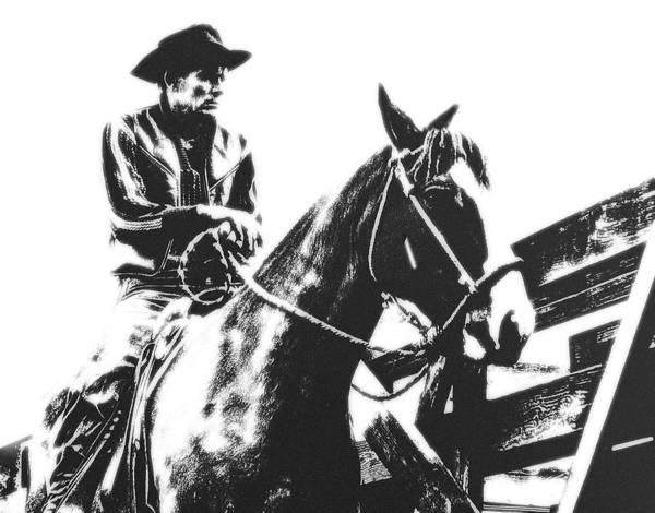 Stockyards Photograph - Kansas City Cowboy by Don Wolf