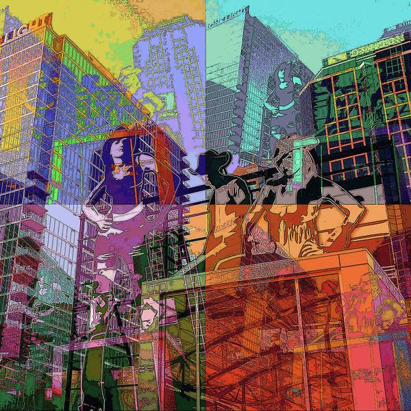 Wall Art - Digital Art - Kansas City Power And Light Fun by Julie Flanagan