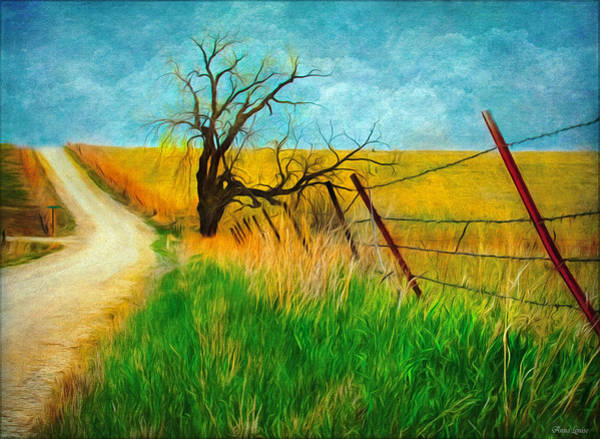 Photograph - Kansas Countryside Early Spring by Anna Louise