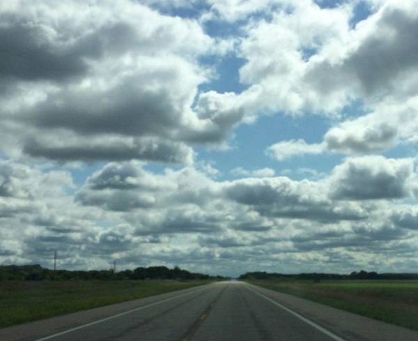 Photograph - Kansas Highway 50 by Annette Hadley