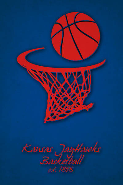 Champ Photograph - Kansas Jayhawks Basketball by Joe Hamilton