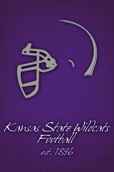 State College Photograph - Kansas State Wildcats by Joe Hamilton
