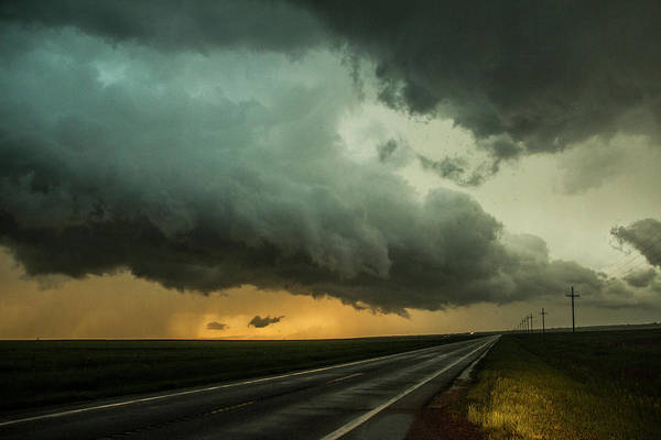 Kansas Storm Chase Bust Day 004 Art Print