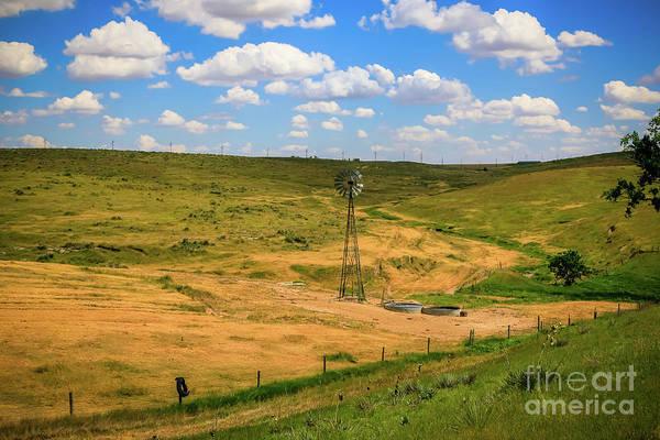 Photograph - Kansas Summer Afternoon by Jon Burch Photography