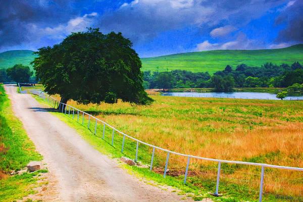 Photograph - Kansas Summer Countryside Lane by Anna Louise