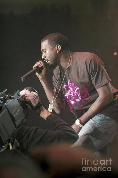 Kanye West Photograph - Kanye West by Concert Photos