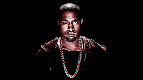 Wall Art - Painting - Kanye West by Queso Espinosa