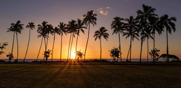 Photograph - Kapaa Beach Park Sunrise by Pierre Leclerc Photography