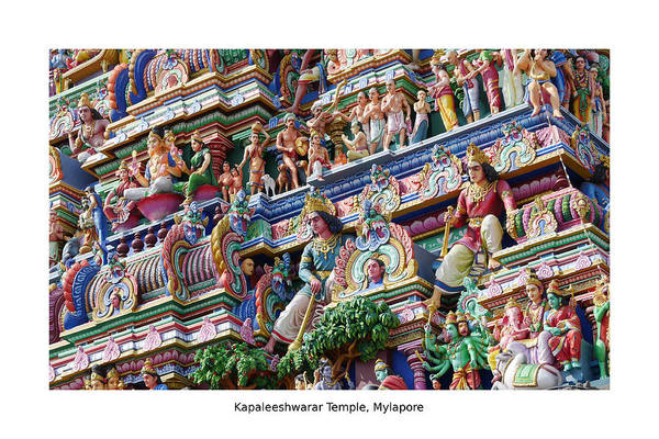 Photograph - Kapaleeshwarar Temple, Mylapore by Richard Reeve