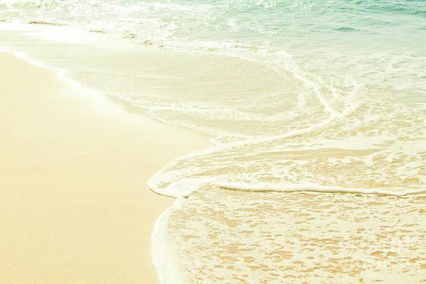 Photograph - Kapalua Beach Maui Hawaii Sparkling Golden Sand And Seafoam by Sharon Mau