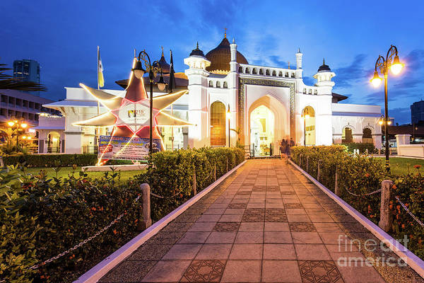 Photograph - Kapitan Mosque In Penang by Didier Marti