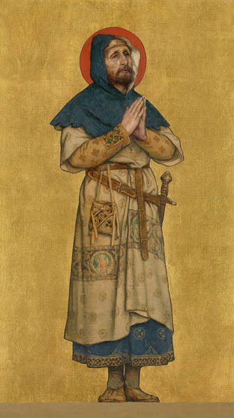 Nobility Painting - Blessed Charles The Good  by Albert De Vriendt