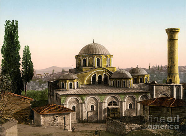 Painting - Kariye Mosque Constantinople by Celestial Images