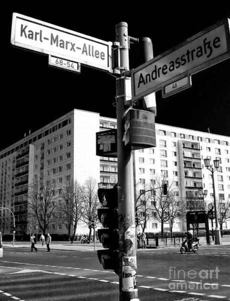 Wall Art - Photograph - Karl-marx-allee by John Rizzuto