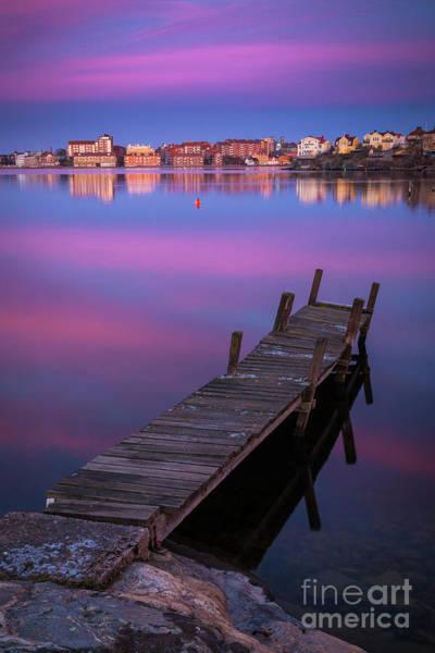 Sverige Photograph - Karlskrona Dock by Inge Johnsson