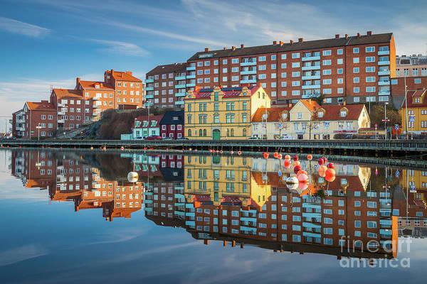 Scandinavian Photograph - Karlskrona Reflection by Inge Johnsson