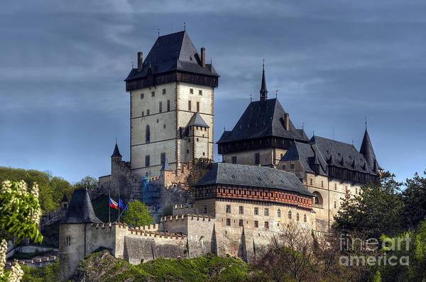 Tourism Wall Art - Photograph - Karlstejn - Gothic Castle by Michal Boubin