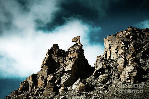 Wall Art - Photograph - Karma Axe Tara Pass Kailas Himalayas Yantra.lv by Raimond Klavins