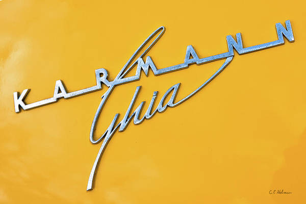 Photograph - Karmann Ghia by Christopher Holmes