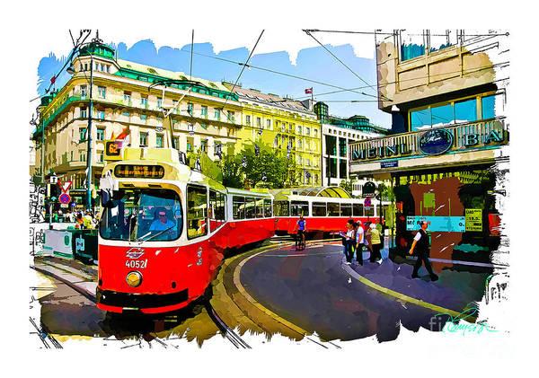 Photograph - Kartner Strasse - Vienna by Tom Cameron