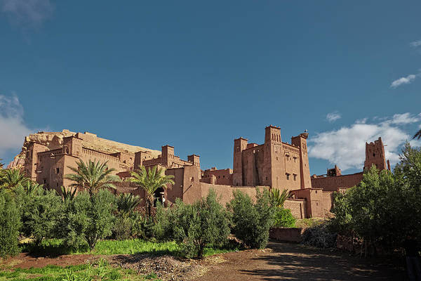Ait Benhaddou Photograph - Kasbah Ait Ben Haddou In The Atlas Mountains Of Morocco. Unesco  by Tjeerd Kruse