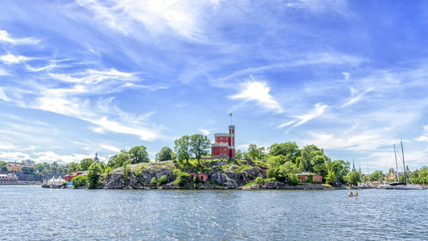 Wall Art - Photograph - Kastellholmen Stockholm by Stelios Kleanthous