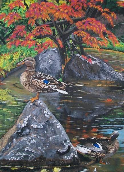 Painting - Kasugai Japanese Garden  by Sharon Duguay