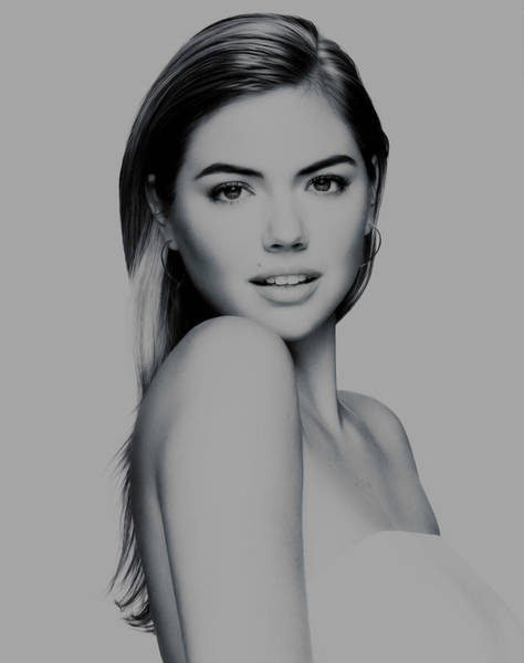 Guess Mixed Media - Kate Upton 17 by Brian Reaves