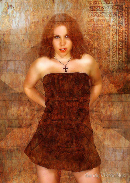 Wall Art - Photograph - Kathleen Portret by The Hybryds