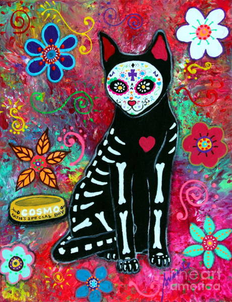 Painting - Katie's Special Cat by Pristine Cartera Turkus