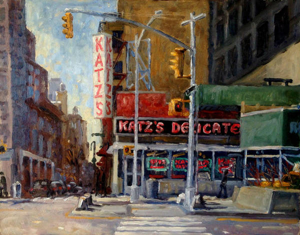 Painting - Katz's Delicatessen, New York City by Thor Wickstrom