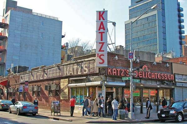 Deli Wall Art - Photograph - Katz's by Jerry Patterson