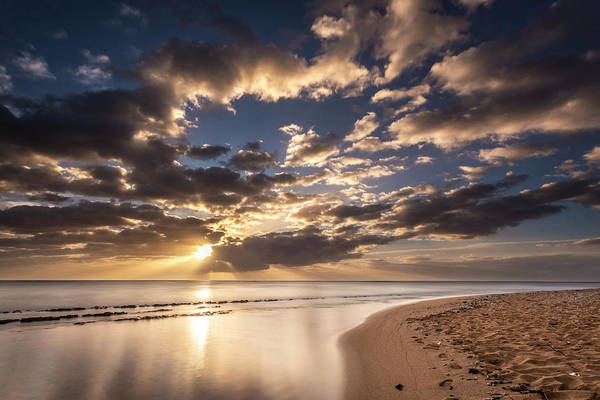 Photograph - Kauai Beach Sunrise by Pierre Leclerc Photography