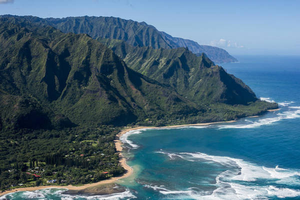 Photograph - Kauai Helicopter Tour by Robert Potts