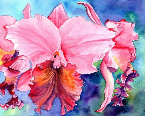 Painting - Kauai Orchid Festival 3 by Marionette Taboniar
