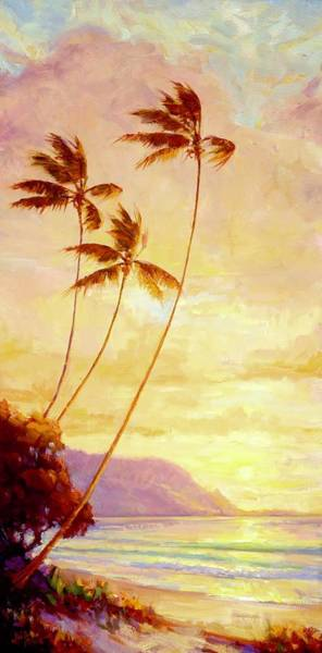 Wall Art - Painting - Kauai Sunset by Jenifer Prince