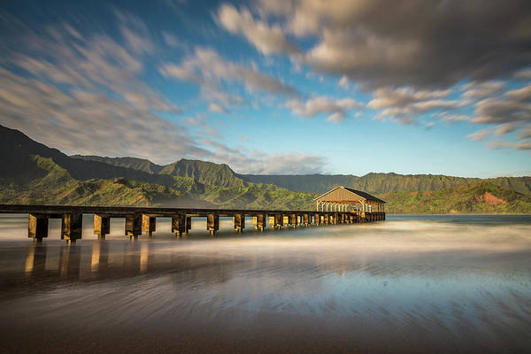 Photograph - Kauai's Hanalei Pier by Pierre Leclerc Photography