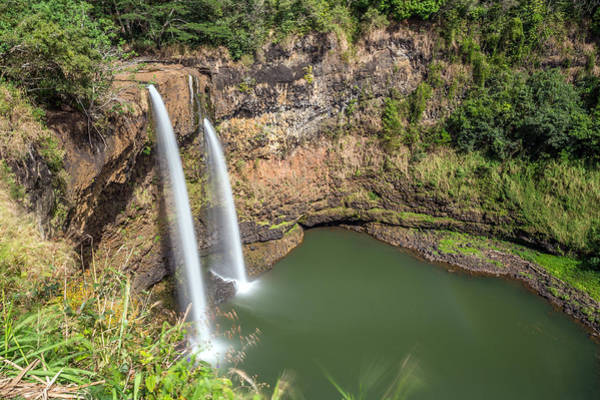 Photograph - Kauai's Wailua Falls by Pierre Leclerc Photography