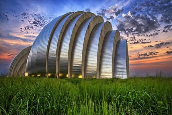 Missouri Photograph - Kauffman Lawn by Thomas Zimmerman